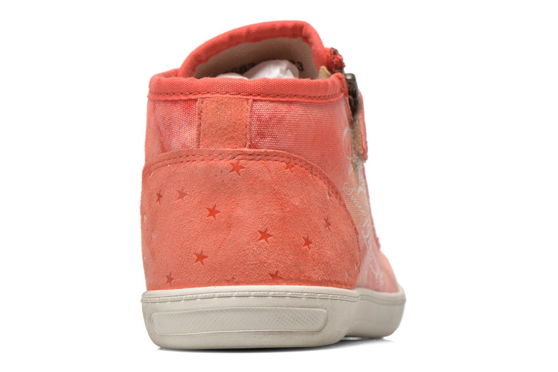 Sneaker Kickers Karola -2 rosa ansicht von rechts