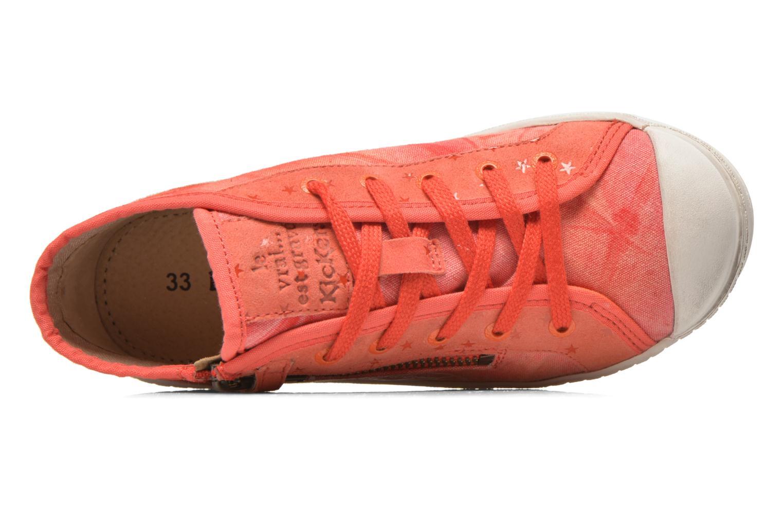 Sneaker Kickers Karola -2 rosa ansicht von links