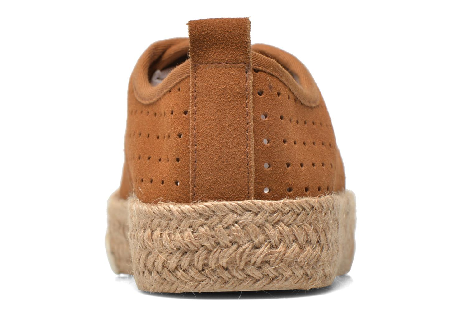 Espadrilles Pare Gabia Alto Brown view from the right