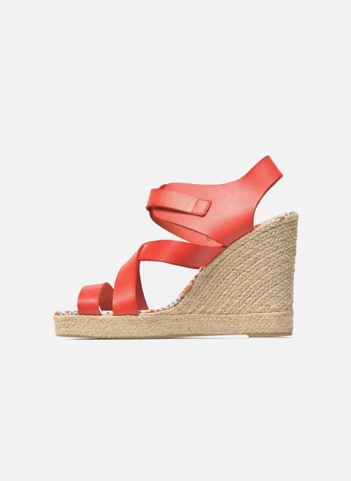 Sandales et nu-pieds Pare Gabia Othello Rouge vue face