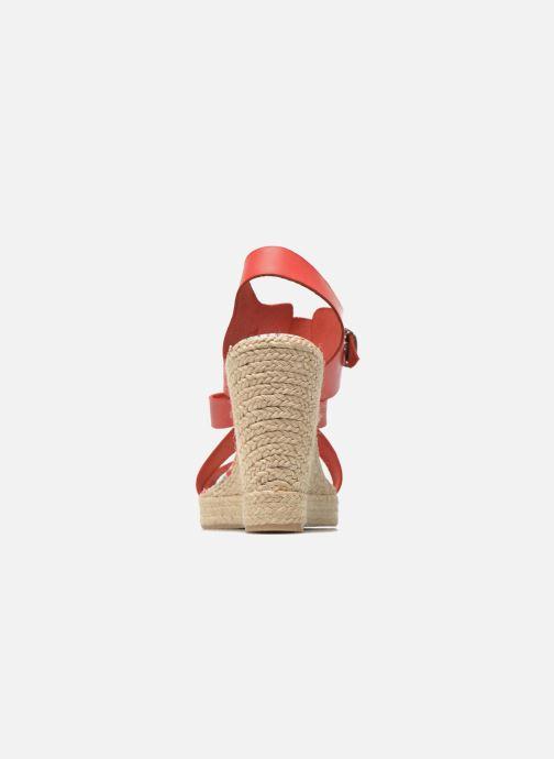 Sandales et nu-pieds Pare Gabia Othello Rouge vue droite