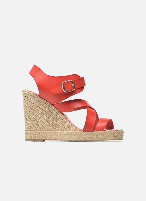 Sandales et nu-pieds Pare Gabia Othello Rouge vue derrière