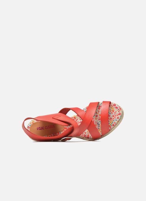 Sandales et nu-pieds Pare Gabia Othello Rouge vue gauche