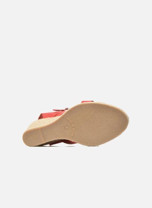 Sandales et nu-pieds Pare Gabia Othello Rouge vue haut