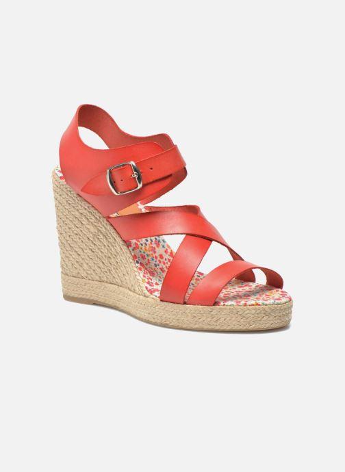 Sandales et nu-pieds Pare Gabia Othello Rouge vue détail/paire