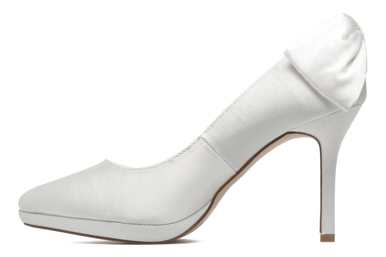 Zapatos de tacón Menbur Amina Blanco vista de frente