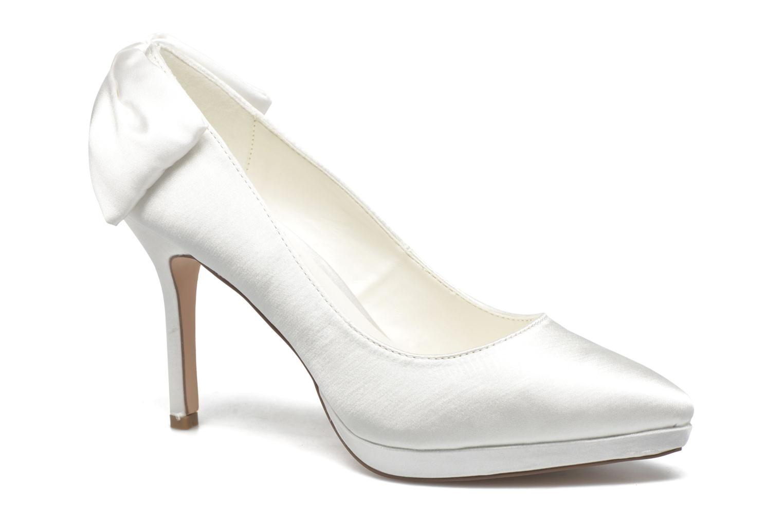 High heels Menbur Amina White detailed view/ Pair view