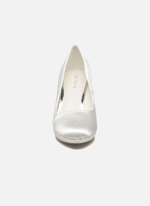 Zapatos de tacón Menbur Cecilia Blanco vista del modelo