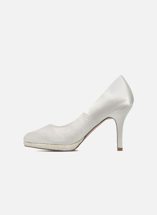 Zapatos de tacón Menbur Cecilia Blanco vista de frente