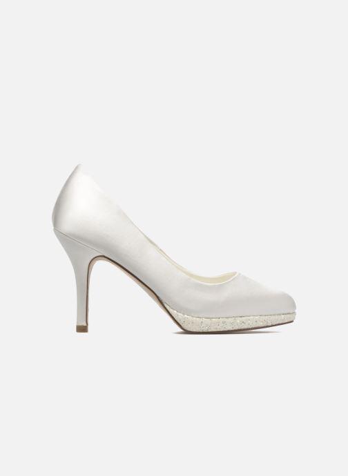 Zapatos de tacón Menbur Cecilia Blanco vistra trasera