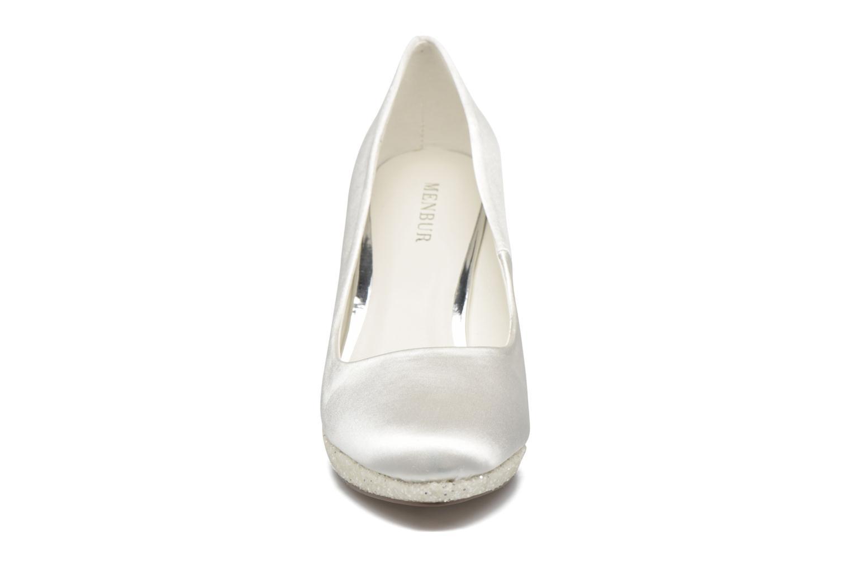 High heels Menbur Cecilia White model view