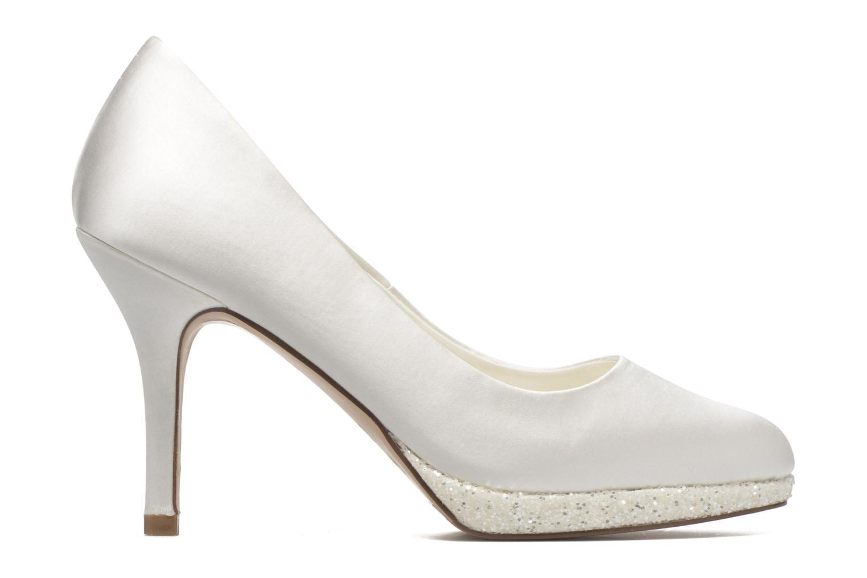 High heels Menbur Cecilia White back view