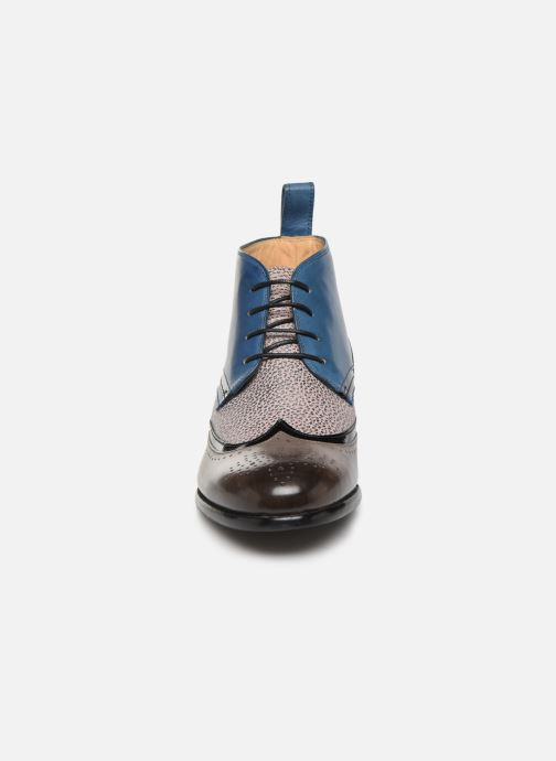 Lace-up shoes Melvin & Hamilton Sally 30 Blue model view