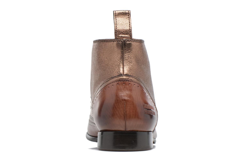 Chaussures à lacets Melvin & Hamilton Sally 30 Or et bronze vue droite