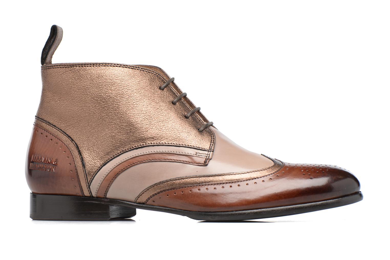 Chaussures à lacets Melvin & Hamilton Sally 30 Or et bronze vue derrière