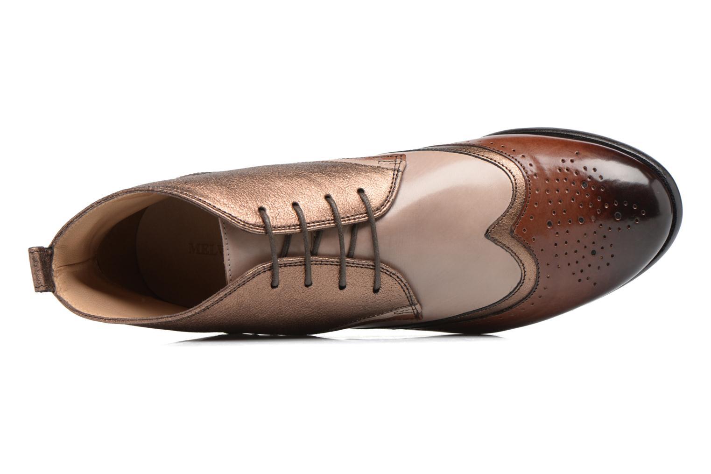 Chaussures à lacets Melvin & Hamilton Sally 30 Or et bronze vue gauche