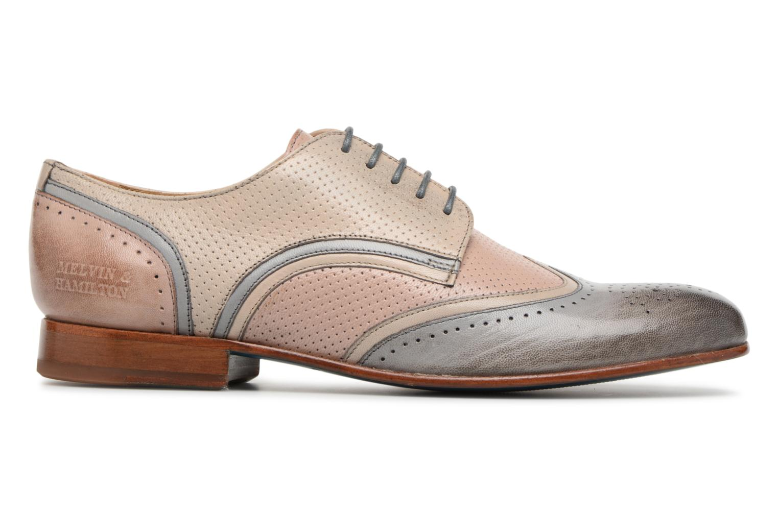 Lace-up shoes Melvin & Hamilton Sally 15 Beige back view