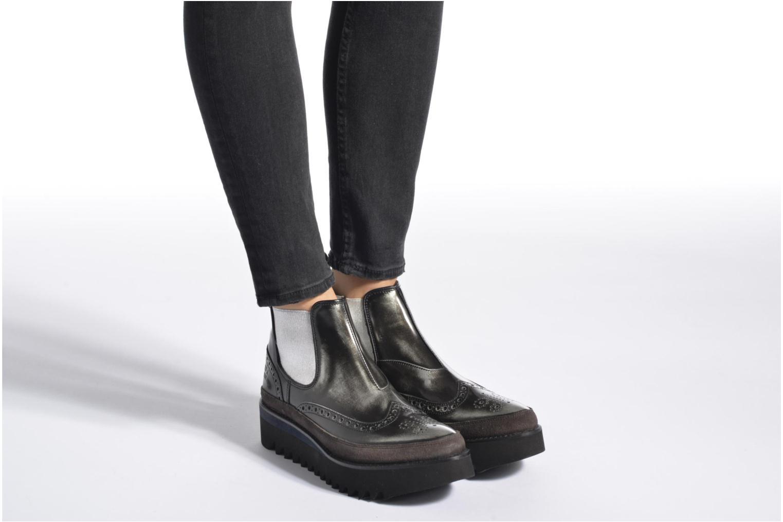 Bottines et boots Melvin & Hamilton Lena 4 Gris vue bas / vue portée sac