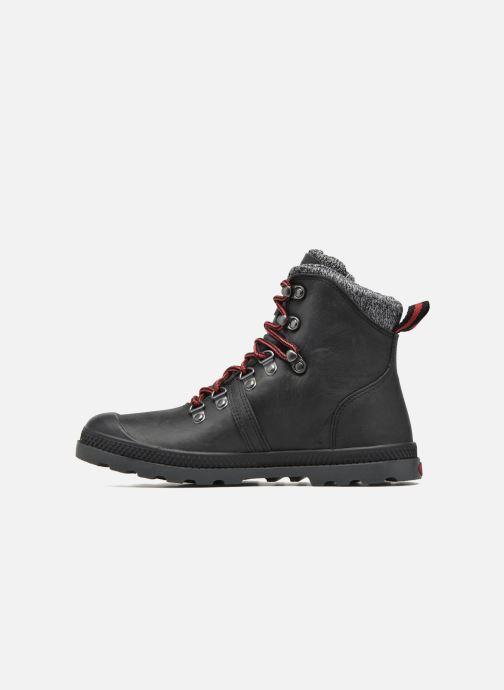 Boots en enkellaarsjes Palladium Pallab Hk LP F Zwart voorkant