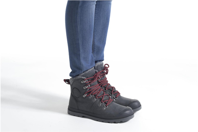 Bottines et boots Palladium Pallab Hk LP F Marron vue bas / vue portée sac