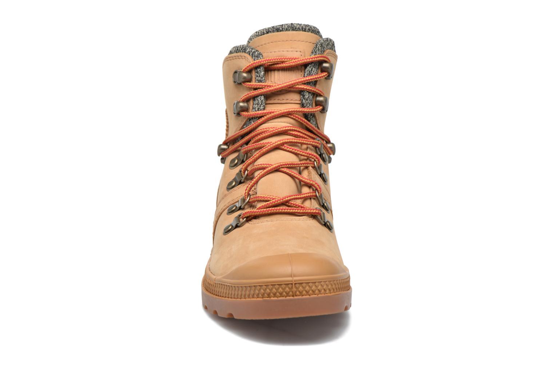 Bottines et boots Palladium Pallab Hk LP F Marron vue portées chaussures