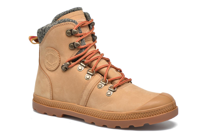 Bottines et boots Palladium Pallab Hk LP F Marron vue détail/paire