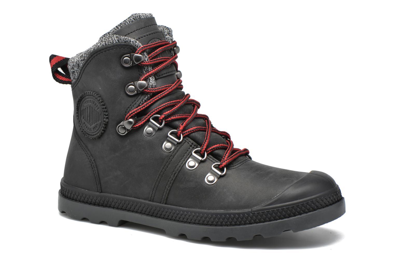 Ankle boots Palladium Pallab Hk LP F Black detailed view/ Pair view