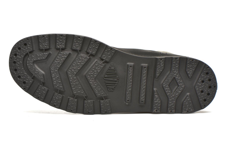 Stiefeletten & Boots Palladium Pampa Knit LP F schwarz ansicht von oben