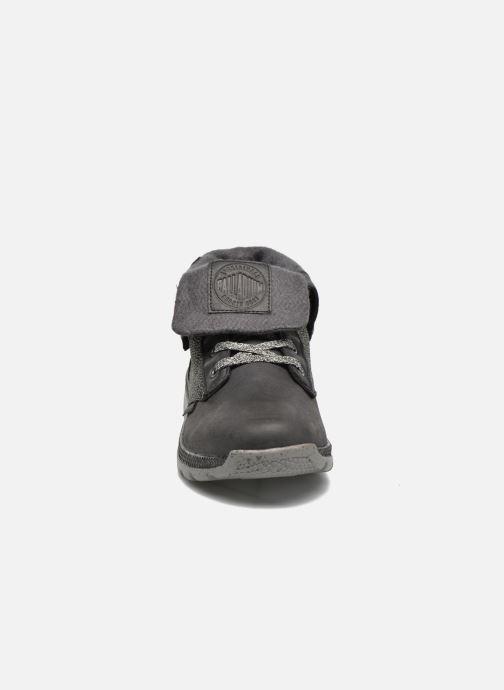 Baskets Palladium Plvil Bgy TCT F Noir vue portées chaussures