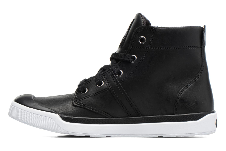 Ankle boots Palladium Palaru HI Lea F Black front view