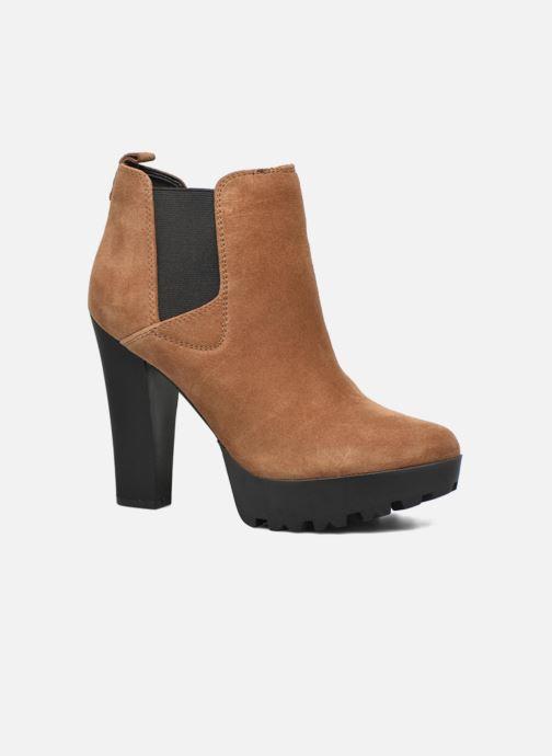 b3df40ac7e18a Guess Marelle (Marron) - Bottines et boots chez Sarenza (274914)