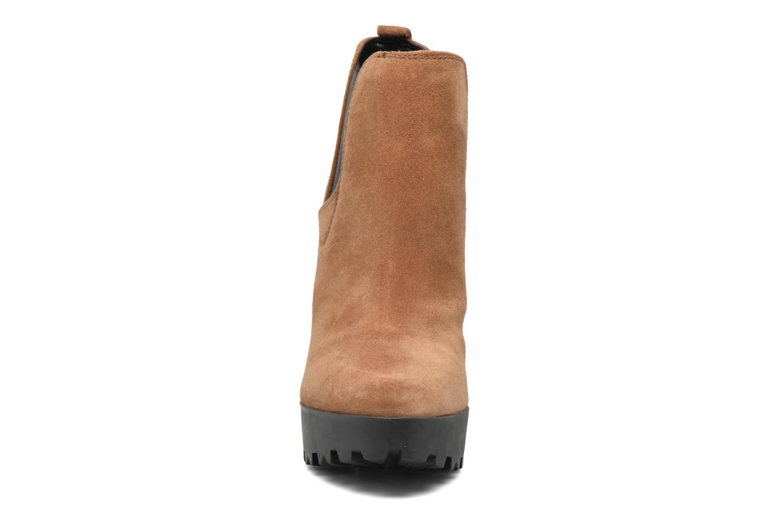 Stiefeletten & Boots Guess Marelle braun schuhe getragen