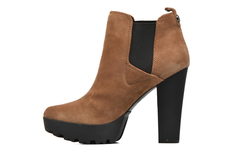 Stiefeletten & Boots Guess Marelle braun ansicht von vorne