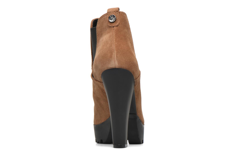 Stiefeletten & Boots Guess Marelle braun ansicht von rechts