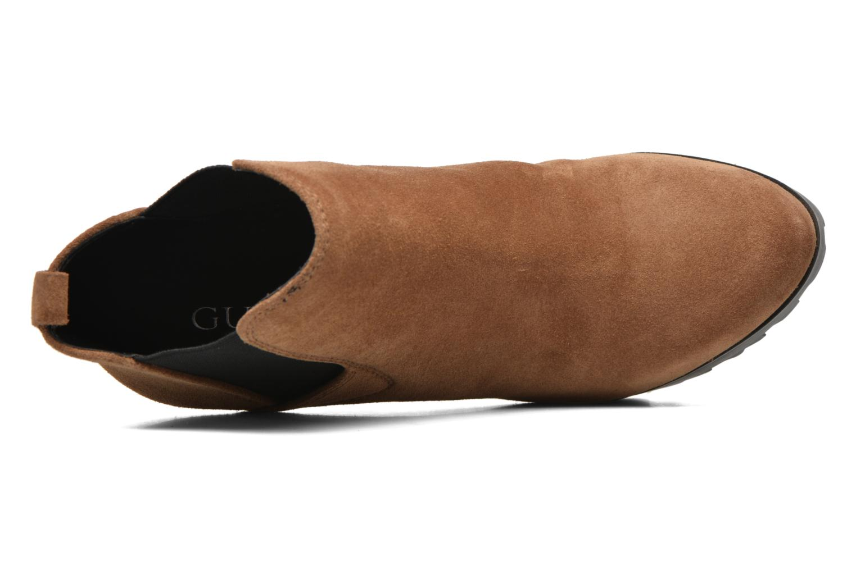 Stiefeletten & Boots Guess Marelle braun ansicht von links