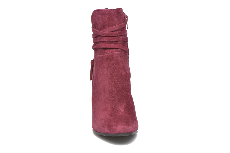 Bottines et boots Steve Madden Glorria Bordeaux vue portées chaussures