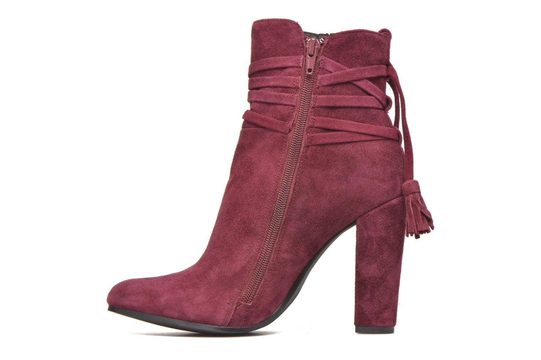 Bottines et boots Steve Madden Glorria Bordeaux vue face