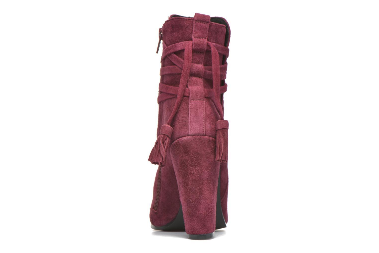 Bottines et boots Steve Madden Glorria Bordeaux vue droite