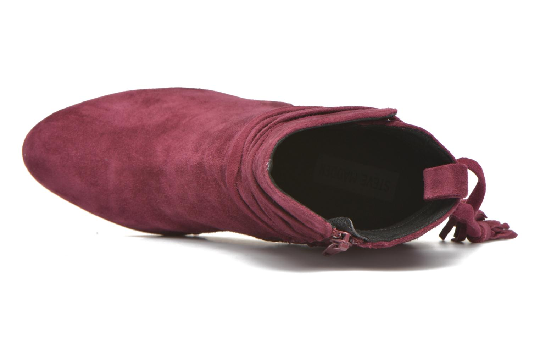 Bottines et boots Steve Madden Glorria Bordeaux vue gauche