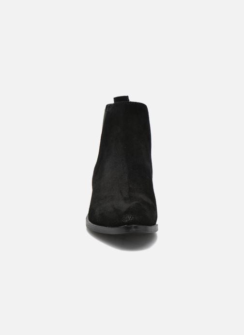 Bottines et boots Steve Madden Nickell Noir vue portées chaussures