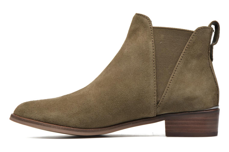 Bottines et boots Steve Madden Nickell Vert vue face