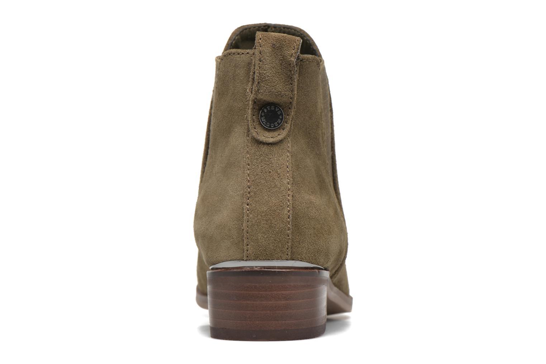 Bottines et boots Steve Madden Nickell Vert vue droite