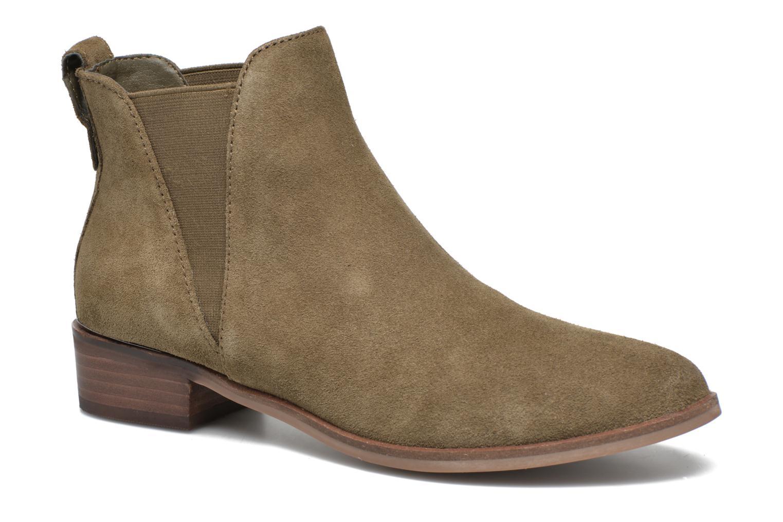 Bottines et boots Steve Madden Nickell Vert vue détail/paire