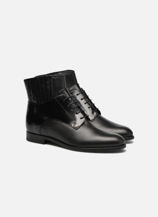 Bottines et boots Versus Cross Noir vue 3/4