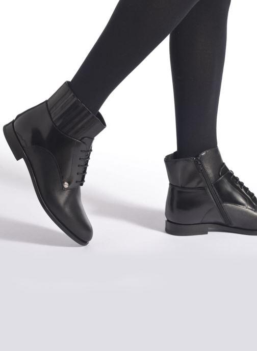 Bottines et boots Versus Cross Noir vue bas / vue portée sac
