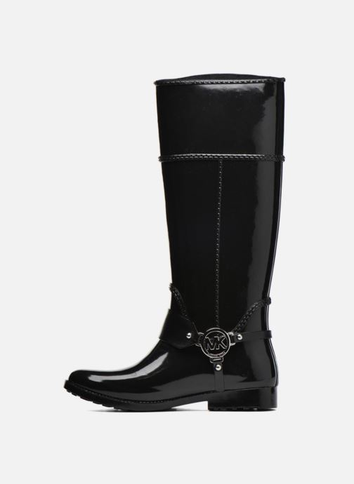 Bottes Michael Michael Kors Fulton harness tall Rainboot Noir vue face