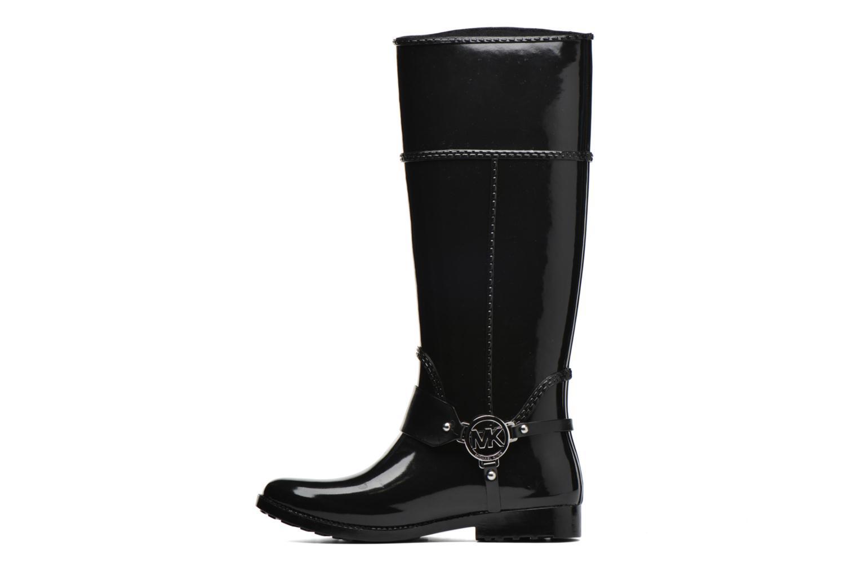Bottes Michael Michael Kors Fulton harness tall Rainboot Noir vue face