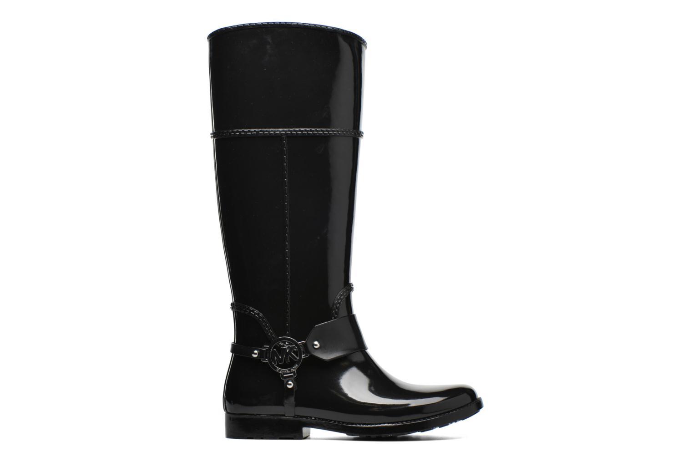 Bottes Michael Michael Kors Fulton harness tall Rainboot Noir vue derrière