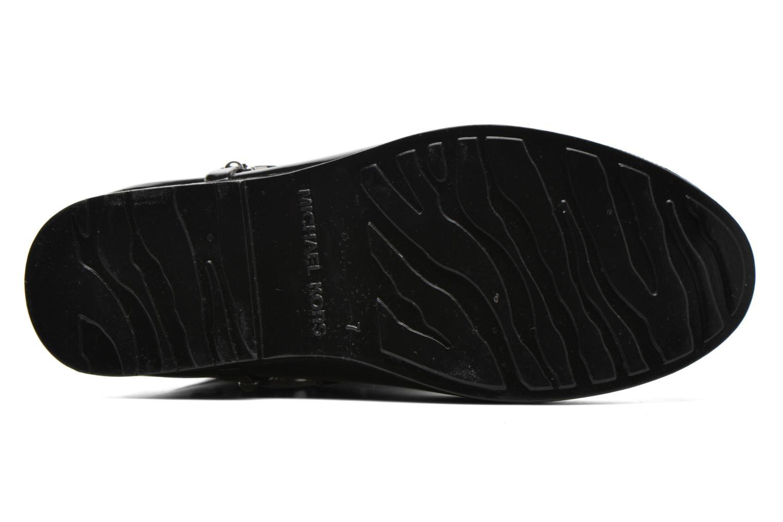 Bottes Michael Michael Kors Fulton harness tall Rainboot Noir vue haut
