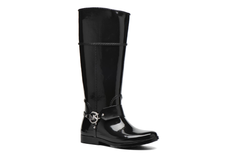 Bottes Michael Michael Kors Fulton harness tall Rainboot Noir vue détail/paire